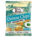 (8 PACK) - Eat Real Quinoa Chips - Sour Cream & Chive | 12 X 80g | 8 PACK - SUPER SAVER - SAVE MONEY