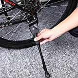 #2: Generic 1 : durable Aluminium Alloy Bike Kickstand Side Stick Stand Cycling Accessory anti-skid much more steady With rubber foot