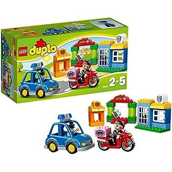 Lego duplo legoville 5680 jouet premier age le camion de police jeux et jouets - Lego camion de police ...