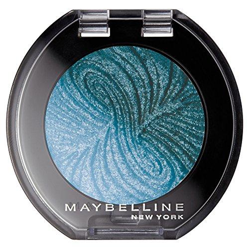 Maybelline New York Lidschatten Colorshow Mono Shadow Teal for Real 28 / Eyeshadow Grün glänzendes Finish, leuchtende Farben, intensive Deckkraft (1 x 3 g)