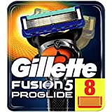 Gillette Fusion5 ProGlide Razor Blades for Men with FlexBall Technology That Responds to Contours, 4 Refills (Packaging May Vary)