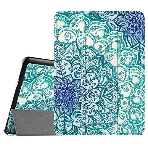 Fintie Hülle für Samsung Galaxy Tab S2 9.7 T810N / T815N / T813N / T819N 24,6 cm (9,7 Zoll) Tablet-PC - Ultra Schlank Ständer Cover Schutzhülle mit Auto Schlaf/Wach Funktion, smaragdblau