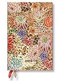 Paperblanks - Michiko-Miniaturen Kikka - Kalender 18 Monate 01.07.2018 bis 31.12.2019 Mini Wochenüberblick Horizontal - deutschsprachige Ausgabe