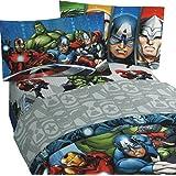 Montar los Vengadores de Marvel completo juego de sábanas de cama