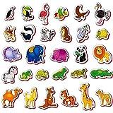 Kids happy Imanes de Nevera para niños de Animales de Granja - 29 Espuma imanes para niños - Animales de Juguete - Juegos para niños - Juegos niños 2 años - Juegos educativos 2 años