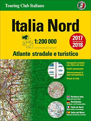 Atlante stradale Italia Nord 1:200.000. Ediz. multilingue