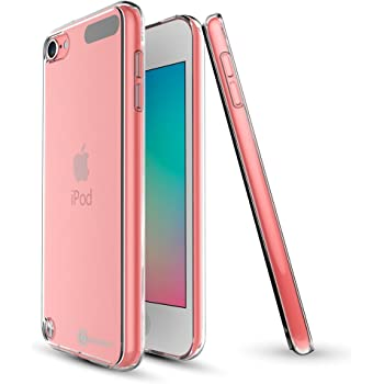 Apple iPod Touch 5th & iPod Touch 6th Generation Case, Case Army® iPod 5 & iPod 6 Scratch-Resistant Silicone Crystal Clear Case, Shock-Dispersion Technology, Cover with TPU Bumper Cover NEWEST MODEL (Limited Lifetime warranty)