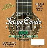 Felipe Conde Strings 660 CLASSIC Guitar Nylon, Medium Tension