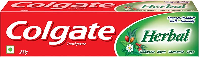 Colgate Toothpaste Herbal - 200 g (Natural)