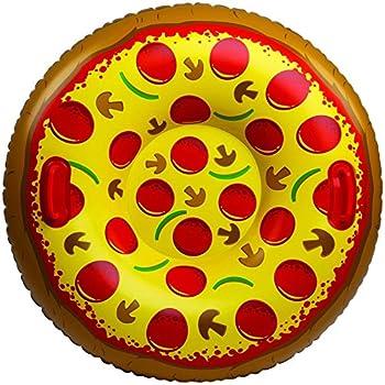Bigmouth Inc Giant Supreme Pizza Snow Tube 1