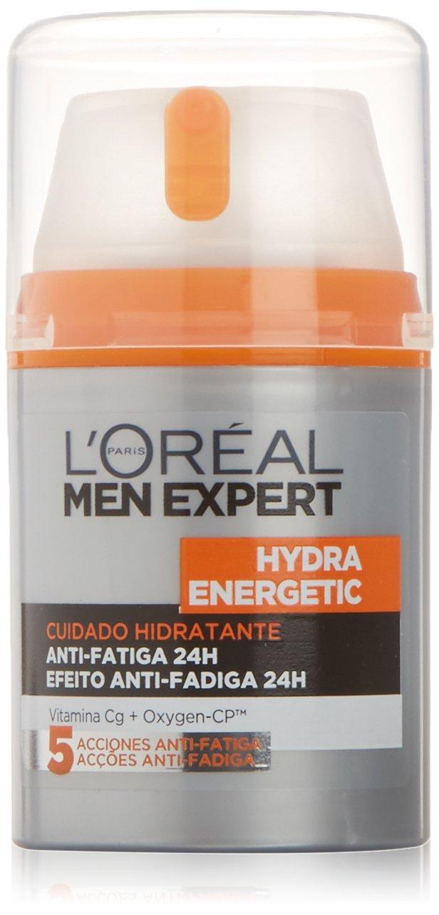 L'Oréal Paris Men Expert 24H Hydra Energetic Dado Hidratante Anti-Fatiga, 50 ml