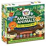 Genius Box Learning Toys for Children ; Amazing Animals Activity Kit New