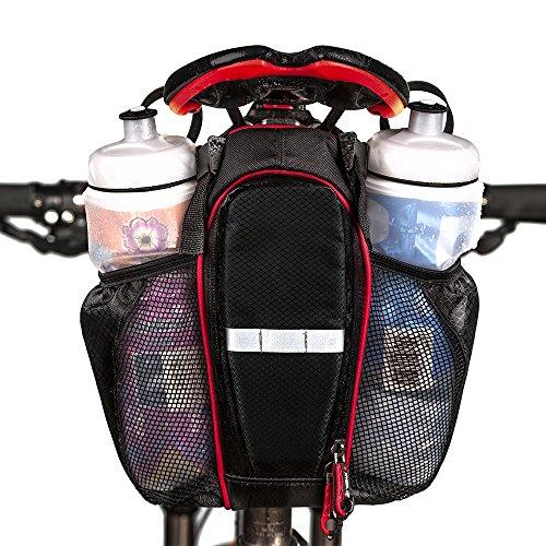 Fahrrad Sattel Beutel, Radfahren zurück Sitzbeutel Aufbewahrungsbeutel, Wasser Flaschen Handy Reparatur-Werkzeug-Installationssatz Taschen Satz hintere Sport Pannier für Mountainbike Fahrrad Reiten