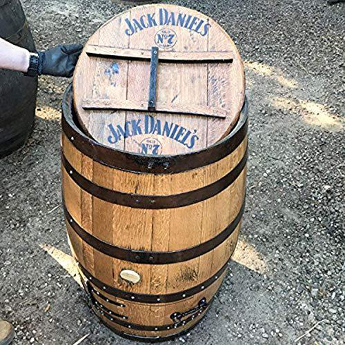 Cheeky Chicks Ltd Jack Daniel's Whisky-Fass aus recycelter massiver Eiche -