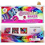 [HOT BIRTHDAY GIFT] Premium Rubber Band Bracelet Kit - Friendship Bracelets Maker With Loom - Best Jewelry Making Kits Ever - Awesome Christmas Gifts For Sisters Brother Kids Girls Boys - 100% Fun Guarantee OR Full Money Back For Sure
