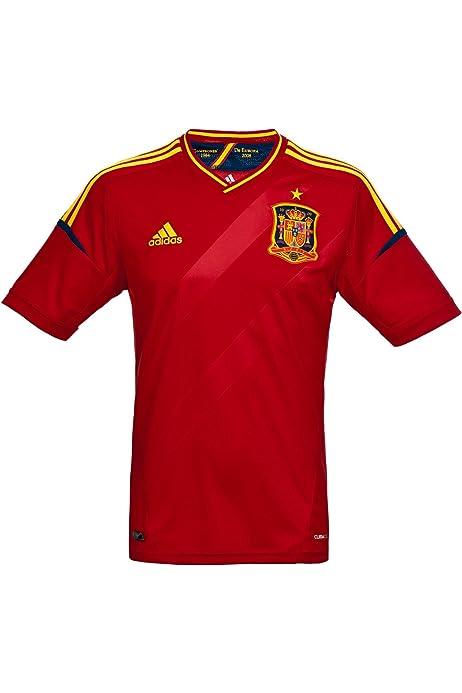adidas 2ª Equipación Federación Española de Fútbol 2016 - Camiseta Oficial, Talla XS: Amazon.es: Zapatos y complementos