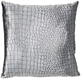 Zebra Textil Bed, Stoff, Silber