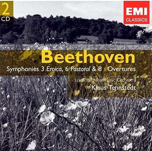 BEETHOVEN - Symphonies 3, 6 et 8 - Ouvertures