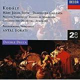 Kodály: Háry János Suite, Dances of Galánta, Peacock Variations, Summer Evening, Symphony in C etc