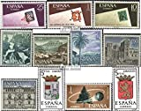 Espagne 1613-1615, 1616-1620, 1621, 1622, 1623 (complète.Edition.) 1966 Timbres spéciaux (Timbres pour Les collectionneurs)