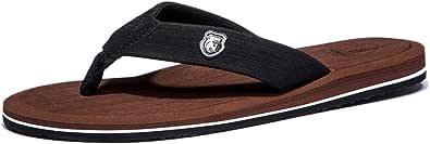 NewDenBer Men's Women's Flip Flops Comfortable Thong Sandals Lightweight Summer Beach/Pool Slippers