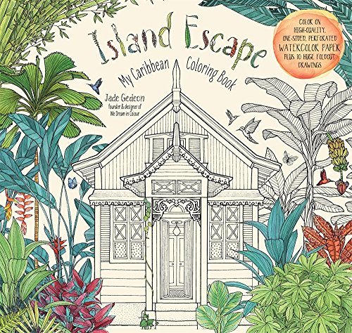 Island Escape (Colouring Books) por Jade Gedeon