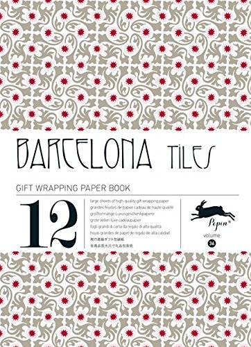Barcelona Tiles: Gift and Creative Paper Book Vol.36 (Gift Wrapping Paper Book, Band 36)