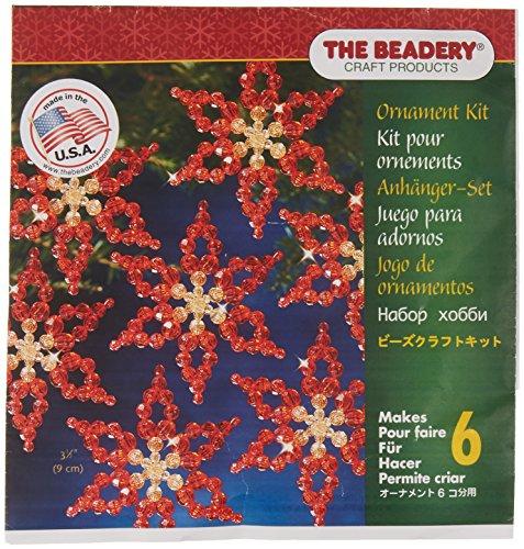 Beadery Kunststoff Holiday Perlen Ornament Kit Weihnachtssterne 3,5Macht 6 -