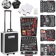 11a72be58 TRESKO® Maletín de Herramientas 949 Piezas   Portaherramientas Portátil    Set/Caja con herramientas