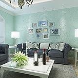 reine schlicht bettwäsche aus tapete schlafzimmer tv hintergrund blau sandstein - tapete,Beige 93201,Wallpaper only,