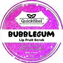 QuickShel 100% Organic Bubblegum Lip Fruit scrub (25gm)