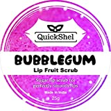 #5: QuickShel 100% Organic Bubblegum Lip Fruit scrub for winters (25gm)
