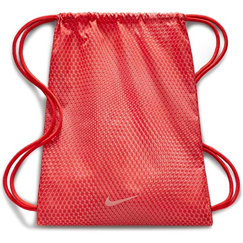 Nike Unisex-Kinder Y NK GMSK - GFX Rucksack, Mehrfarbig (Bright Crimson/Oracl), 8x15x20 centimeters