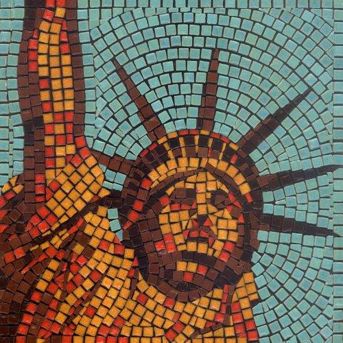 kit de mosaïque, 20x20cm, New york