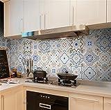 PLYY Küche Öl Aufkleber Wohnzimmer Wanddekoration Aufkleber Selbstklebende Innen Badezimmer Badezimmer Wasserdichte Wandaufkleber