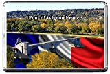 C355 PONT D'AVIGNON KÜHLSCHRANKMAGNET FRANCE TRAVEL PHOTO REFRIGERATOR MAGNET