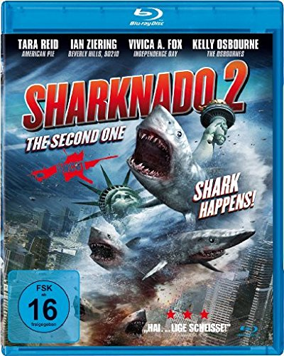 Sharknado 2 - The Second One - Uncut [Blu-ray]