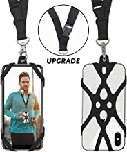 ROCONTRIP 2 in 1 Cell Phone Lanyard Strap Case Holder with Detachable Neckstrap Universal for Smartphone iPhone 8,7 6S iPhone
