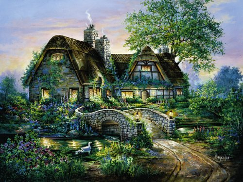 Heritage House 1000-piece Jigsaw Puzzle by SunsOut Heritage House