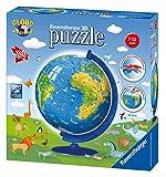 Ravensburger Italy 123346 - Puzzle 3D Globo Illustrato, Multicolore