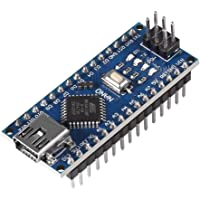 Robocraze Nano Board Compatible with Arduino with soldered pin