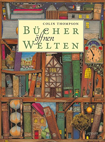 Buchseite und Rezensionen zu 'Bücher öffnen Welten' von Colin Thompson