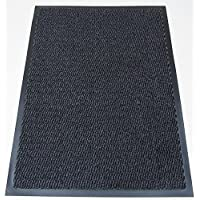 Machine Washable Grey Black Heavy Quality Non Slip Hard Wearing Barrier Mat. Available in 8 sizes (120cm x 240cm)