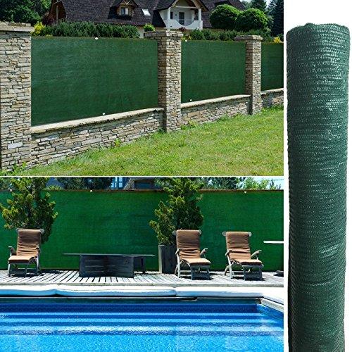 Probache - Brise Vue Vert 1,2 x 10 m 90 GR/m² Classique