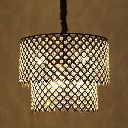 Unbekannt Nordic Chrom Runde Finish Kristall Kronleuchter Für Küche Insel Bar Flur Esszimmer Wohnzimmer E27 Licht Lampe Leuchte