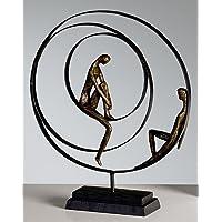 CASABLANCA Sculpture « Patience », en Bronze, 34 x 41 cm