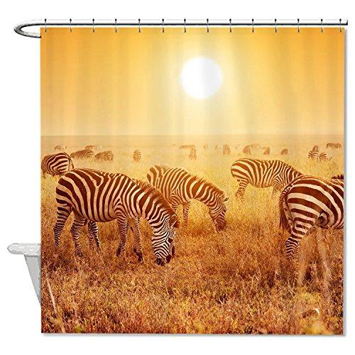 whiangfsoo-mandria-zebre-sulla-savana-al-tramonto-casa-decro-tenda-da-doccia-8-48x72120x180cm