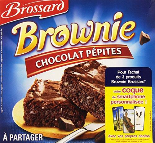 Brossard Brownie à partager Pépites de Chocolat 285 g - Lot de 6