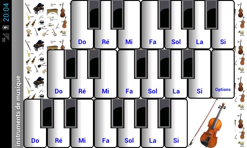 instruments de musique appstore pour android. Black Bedroom Furniture Sets. Home Design Ideas