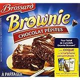 Brossard Brownie à Partager Pépites de Chocolat 285 g